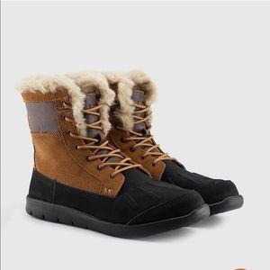 UGG | K Baxter Fold Over suede boots